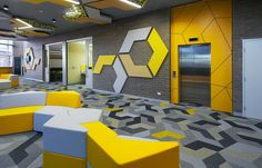 Bolon flooring in Mount Lawley Senior High School in Perth, Australia