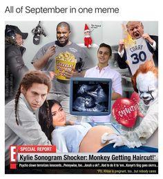 All of September 2017 in One Meme