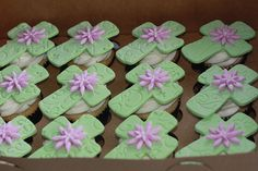 First Communion Cakes and Cupcakes | red carpet red velvet cupcakes by cushy cakes organic cupcakes