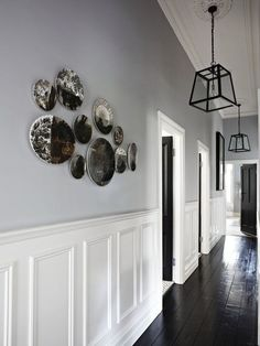 25 Best Hallway Walls Make Your Hallways As Beautiful As Entryway and Hallway Decorating Ideas Beautiful Hallway Hallways Walls Hallway Walls, Entry Hallway, Wainscoting Hallway, Hallway Wall Decor, Hallway Storage, Wainscoting Styles, Upstairs Hallway, Foyer Decorating, Interior Decorating
