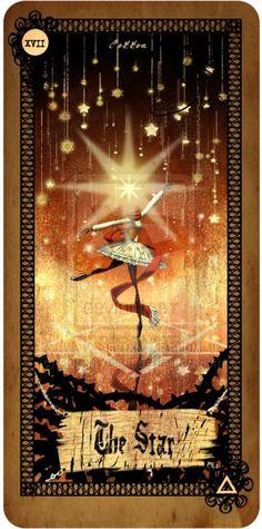 The  Tarot art   Tarot card - The Star by CottonValent.deviantart.com on @deviantART