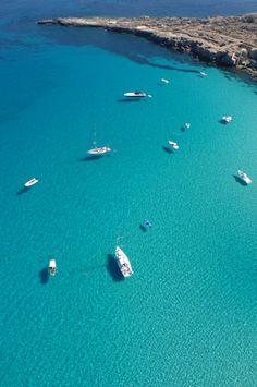 Cala rossa - Favignana- Isole Egadi - Sicily, Italy