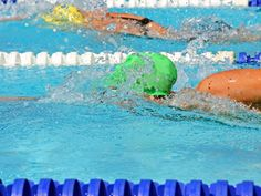 Swimming Speed Workout- someday perhaps I can put the words speed and swim in the same sentence!
