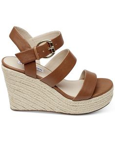 ddb37232a47 Steve Madden Valery Espadrille Wedges   Reviews - Sandals   Flip Flops -  Shoes - Macy s