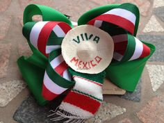 Fiesta  Cinco de Mayo Hair Clip by TwoLooseLoops on Etsy, $5.00