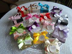 Lembrancinhas de Natal produzidas por Mônica Guedes
