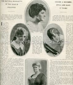 Wondrous Style Hair Styles For The Ladies 1915 Years 1911 1916 Hairstyles For Men Maxibearus