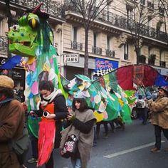 @janettesvn Instagram photos | #Dragon #CarnavaldeParis #Paris #Paris20 #instafrance #instaparis #igersparis #ig_paris