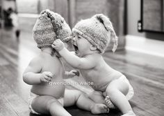 It'd be cute to have twins one day! :-):-):-)
