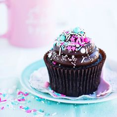 sweetapolita Saturday sprinkles ! And double chocolate fudge cupcakes don't hurt either.