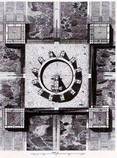 claude-nicolas ledoux - projet de maison de plaisir Architecture Drawings, Classical Architecture, Historical Architecture, Claude Nicolas Ledoux, Rationalism, Creative Background, Modern Times, 18th Century, Paintings