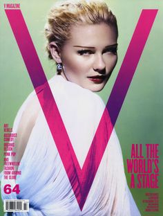 V Magazine's Spring 2010 issue has 27 year old Kirsten Dunst on the cover (two covers) and an inside editorial. Photographed by Mario Testino and styled by Nicola Formichetti, entitled … V Magazine, Fashion Magazine Cover, Fashion Cover, Magazine Design, Magazine Layouts, Fashion Shoot, Editorial Fashion, Kirsten Dunst, Lily Donaldson