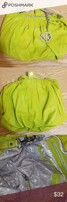 Michael Kors MK Charm Bag Michael Kors bag with three straps. Two side straps and one middle strap. Michael Kors Bags Shoulder Bags