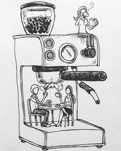 coffee drawing 29 Exceptional Coffee Bean Roaster For Home Coffee Bean Light Roast Don Pablo Coffee Latte Art, Coffee Cafe, Coffee Drinks, Drinking Coffee, Cafe Barista, Coffee Doodle, Tea Latte, Iced Coffee, Coffee Bean Art
