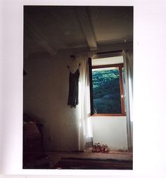 SOUTH OF FRANCE  by snake skin . jacket    #window #france #house #bohemian #hippie #nature #dress #analogue #photography #woods #wooden #floors