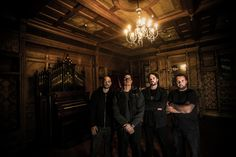 Ghost Adventures: Aaron, Zak, Jay and Billy inside the Winchester Mystery House, San Jose, California.
