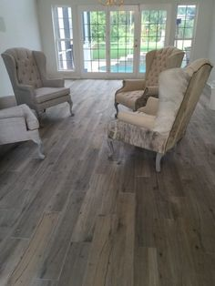 Wood Plank Tile Floor by Seer Flooring | Tampa, FL