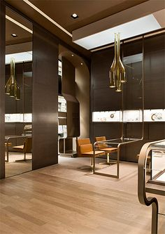 Faraone jewellery boutique by iosa ghini associates, milan store design. Interior Design Blogs, Design Shop, Commercial Interiors, Commercial Design, Design Comercial, Jewelry Store Design, Jewelry Stores, Jewelry Shop, Store Interiors