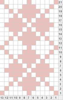 Tricksy Knitter by Megan Goodacre: Mini Pink Argyle Tapestry Crochet Patterns, Fair Isle Knitting Patterns, Bead Loom Patterns, Knitting Charts, Weaving Patterns, Loom Knitting, Knitting Stitches, Cross Stitch Patterns, Knitting Machine