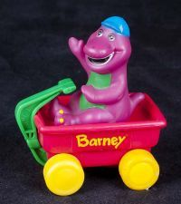 Barney Radio Preschool Toy Purple Dinosaur 1990 S Musical