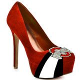 I'm sure my husband wouldn't mind that these shoes made me 3-4 inches taller than him... :)