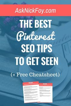 Wishing your pins got more impressions, repins, and clicks to your website or blog? Use this Pinterest SEO guide and follow the tips inside to start seeing traffic growth. I was able to take my account website from 0 to 5,000 Pinterest visitors in under 3 months of using Pinterest. Click to see my Pinterest SEO tips or hit save to share!