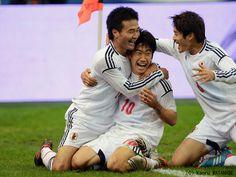 Kagawa, Konno, and my soccer crush Atsuto Uchida