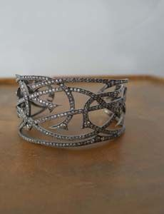 Parulina: vines in the woods diamond cuff