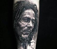 Uncle Bob tattoo by Steve Butcher