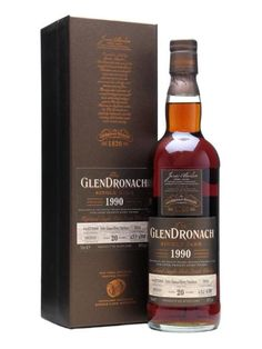 You can never go wrong with a sherried single cask Glendronach. Never.