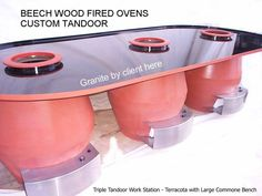 Deco Restaurant, Restaurant Design, Tandoor Oven, New Technology Gadgets, Wood Fired Oven, Commercial Kitchen, Firewood, Granite, Kitchen Appliances