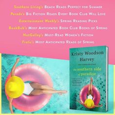 "Bestselling author Kristy Woodson Harvey's final novel in the Peachtree Bluff Series, The Southern Side of Paradise has released!. Elin Hilderbrand called Harvey, ""A major new voice in Southern fiction,"" and her latest has been hailed as one of Southern Living and Parade Magazine's Best Beach Reads for 2019."