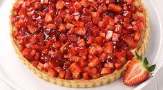 Ένας κούκος δεν φέρνει την άνοιξη, μια τάρτα φράουλα όμως μπορεί. Greek Recipes, Cooking Recipes, Pie, Sweet, Desserts, Foods, Cakes, Halloween, Torte