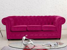 Chesterfield Sofa Günstig Kaufen 3 sitzer sofa chesterfield samt anthrazit deko
