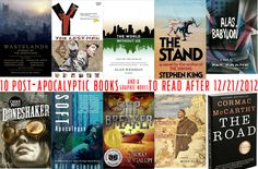 10 Post-Apocalyptic Books (and a Graphic Novel) to Read After 12/21/2012