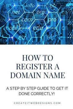 Are you interested in purchasing a URL or domain?   Registering for a domain name or URL is an easy process.  You can own one or many domain names.  Grab a piece of the internet to claim as yours today!  Plus, included in the article is how to get a domain name for FREE!.  #registerdomainname #webdesign #domainnameideas #howtoblog #howtobuildawebsite #websitedesign Make More Money, Make Money From Home, Domain Name Ideas, Making Money On Youtube, Website Maintenance, Simple Website, Be Your Own Boss, Earn Money Online, Blog Tips