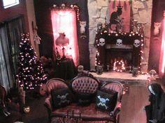 gothic wiccan livingroom uploaded