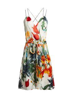 SUSANA MULTI STRAP MOCK WRAP SHORT DRESS by Alice + Olivia €320