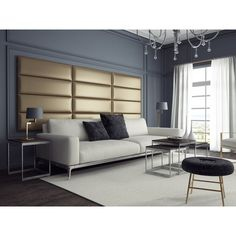Upholstered Wall Panels By Vant- Rectangle Shaped- Packs Of 4.