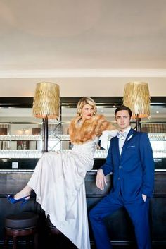 Check out this great wedding shoot inspired by the Great Gatsby theme and DIY paper wedding decorations. Great Gatsby Wedding, Wedding Pics, Wedding Shoot, Wedding Styles, Wedding Dresses, Wedding Ideas, Wedding Themes, Diy Wedding, Alternative Wedding Venue
