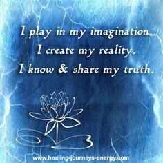 Throat Chakra Affirmation... your thoughts create your reality and by practicing your chakra balancing affirmations on a regular basis you will start seeing amazing results in your life.