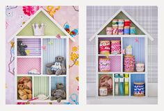 faça você mesmo, casinha de boneca, decoração, criança, menina