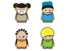 Vector Cartoon Characters 11041