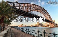 Australia is the number 1 place I want to visit before I die. Australia is the number 1 place I want to visit before I die. Oh The Places You'll Go, Places To Travel, Bucket List Before I Die, Visit Australia, Australia Travel, Australia Destinations, Melbourne Australia, Amazing Destinations, Adventure Is Out There