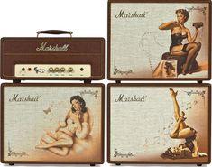 Marshall Custom Shop C5 Pin-Up Guitar Amp Stack