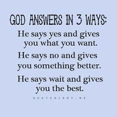 Need to remember this!  Do not lose faith, my servant was His command.  Why can I not seem to follow it?
