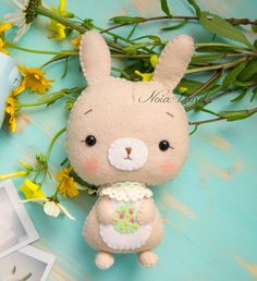 PDF Pattern. Cute Easter Bunny by Noialand on Etsy