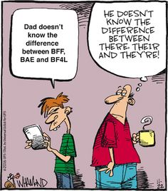 Written communication has never been more important between both texting and traditional writing as in this #RealityCheck #comic.  Sharpen your English skills with a short course at www.CBC123.com