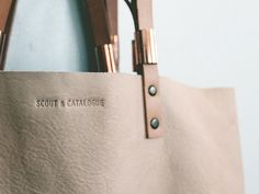 spring/summer 2013 collection preview by Scout & Catalogue #bag #fashion #tote #leather #style #minimalist