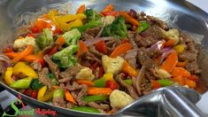 BEEF & VEGETABLE SAUCE WITH WHITE RICE RECIPE   LET'S MAKE DINNER IN UNDER 30 MINUTES - YouTube Beef Tip Recipes, Asian Recipes, Chicken Recipes, Cooking Recipes, Easy Recipes, Beef Vegetable Stir Fry, Vegetable Rice, Beef Mechado, Creamy Chicken Spinach Pasta